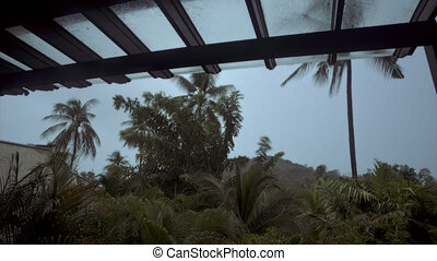 Time Lapse of Tropical Sky