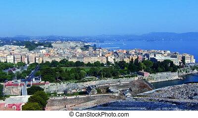 Time lapse: old city, Corfu