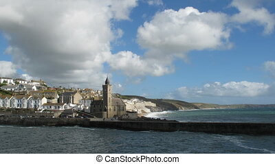 Time lapse Porthleven.