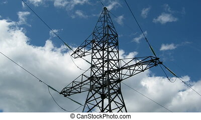 reliance power under sky - time lapse - reliance power under...