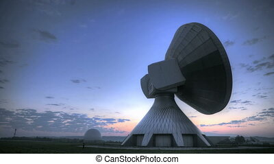 Time lapse sunrise over Satellite S