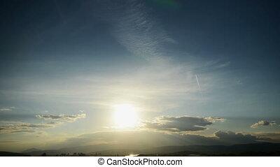Time Lapse Sunset 4k