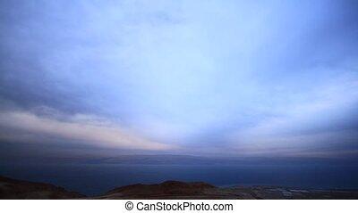 Time lapse video the Dead Sea