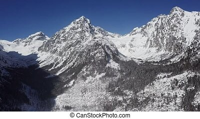 Gerlachov Peak in High Tatras mountains, Slovakia