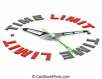 time limit icon, tight schedule limited hours and urgent...