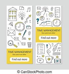 Time management banner
