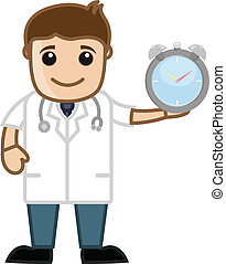 Time Management - Doctor Vector