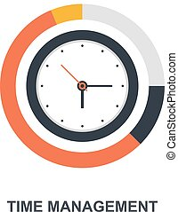 Time Management icon concept