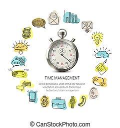 Time Management Round Design
