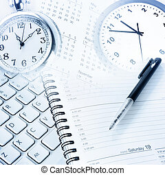 Time management - Various business objects. Time management