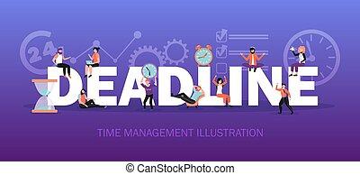 Time Management Title Header