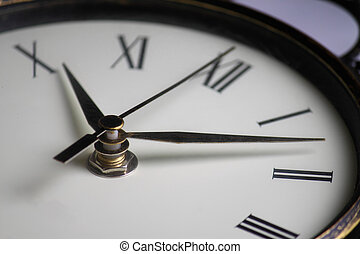 Time Management - Wall clock with second, minute, and hour...
