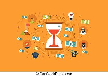 Time Money Concept