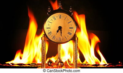 Time on Fire Burning Hours