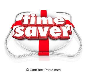 Time Saver Life Preserver Increase Improve Efficiency Productivi