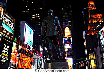 Time Square in Manhattan New York