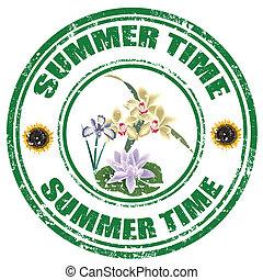 time-stamp, nyár