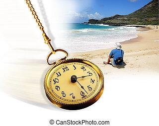 time., strand