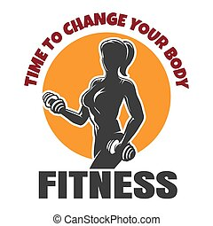 Time to change your body fitness emblem