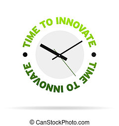 Time to innovate Clock
