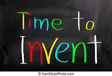 Time To Invent Concept