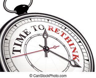 time to rethink concept clock