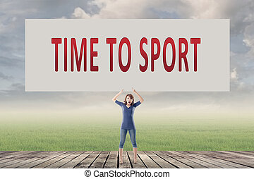 Time to sport