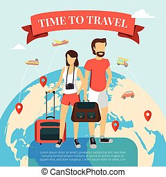 Time to travel flat