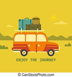 Time to travel icon