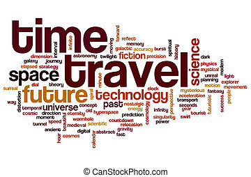 Time Travel Word Cloud