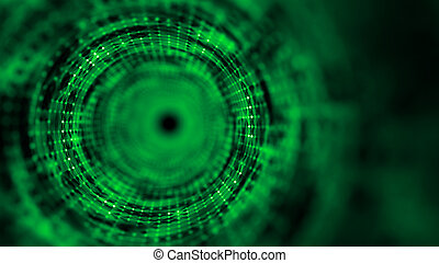 Time tunnel, computer generated abstract fractal background