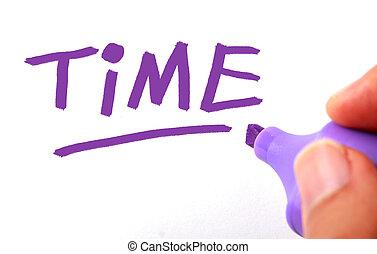 Time Writing