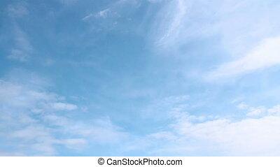 timelaps, nuage
