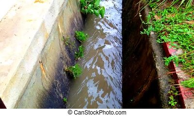 Timelaps the water level - Timelaps changes the water level...