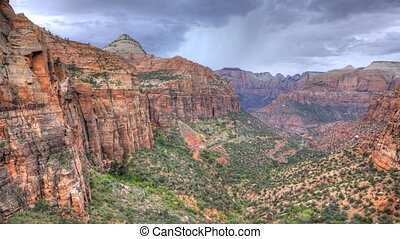 Timelapse, Angel's Point, Zion