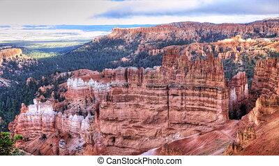 Timelapse at Bryce Canyon, Utah