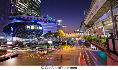 Timelapse - Bangkok Cityscape