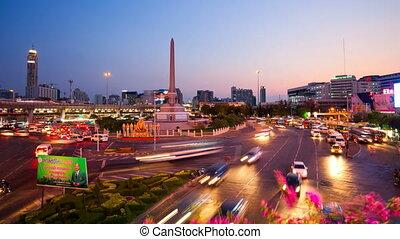 Timelapse - Bangkok Victory Monumen