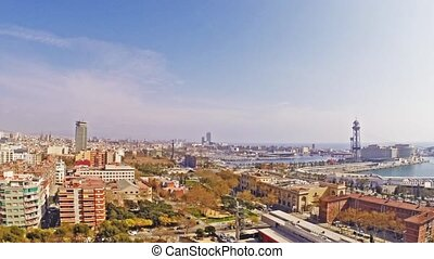 timelapse barcelona for use in presentations, manuals,...