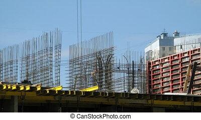Timelapse: Builders align armature
