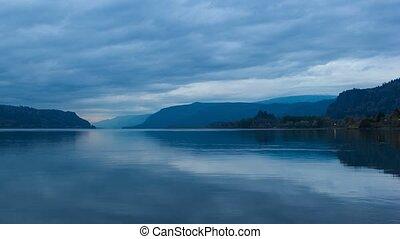 Timelapse Columbia River Gorge 4k