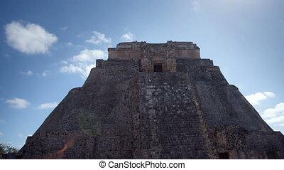 timelapse, coup, 21, mayans, décembre, mexico., maya, uxmal, volonté, evénements, transformative, croire, ruines, produire, 2012