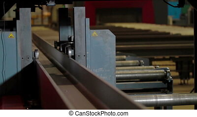 Timelapse Drilling Machine processes the metal - Automated...