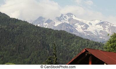 TimeLapse glacier - Shooting Glacier Express in Upper...
