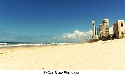 Timelapse. Gold Coast, Queensland. Australia.