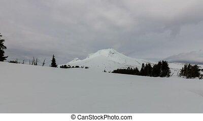 Timelapse in Mount Hood in Oregon - Ultra High Definition 4k...