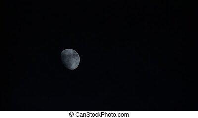 (timelapse), lune