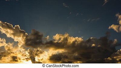 Timelapse,  mauritius, Sonnenuntergang,  4k