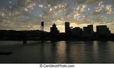 Timelapse Movie Portland OR City - Timelapse Movie of...