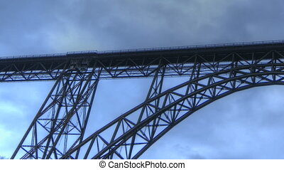 Muengstener Bridge - Timelapse Muengstener Bridge